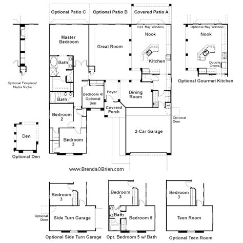 2400 sq ft house plan tangerine crossing floor plan premier series hawthorne model