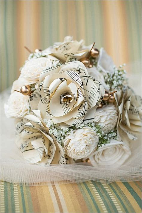 Wedding Paper by Best 25 Paper Wedding Bouquets Ideas On Paper