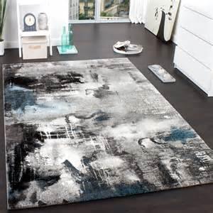 teppich de teppich modern designer teppich leinwand optik meliert