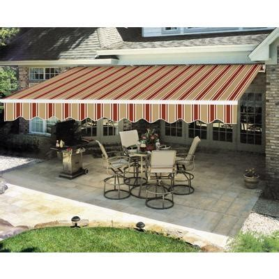 everite manual retractable awning 12 x 8