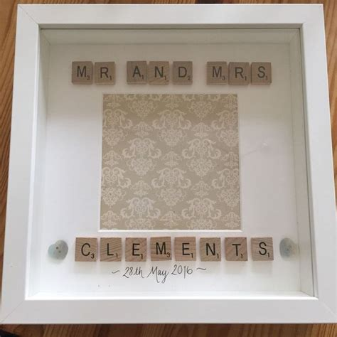Wedding Gift Photo Frame by Best 20 Scrabble Crafts Ideas On Scrabble