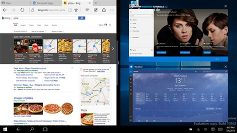 windows 10 reserve tutorial windows 10 tutorial 8 touch multitasking top windows