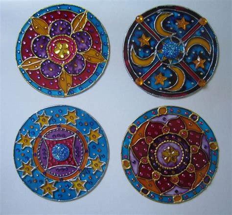 imagenes de mandalas hechas con cd una serie de m 225 ndalas hechas en cd reciclados con pintura