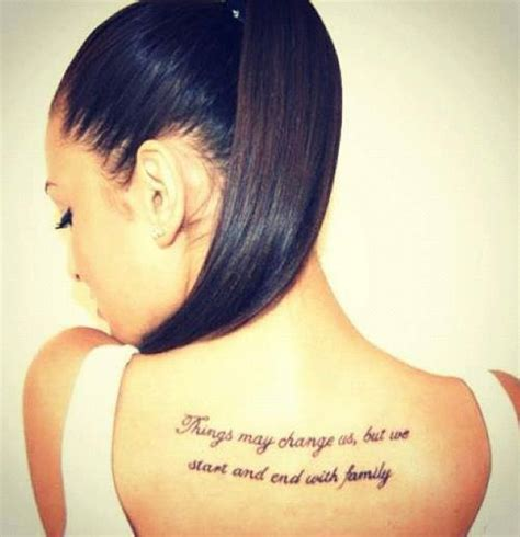 tattoo quotes on back tumblr citation tatouage 20 id 233 es de phrases inspirations photos