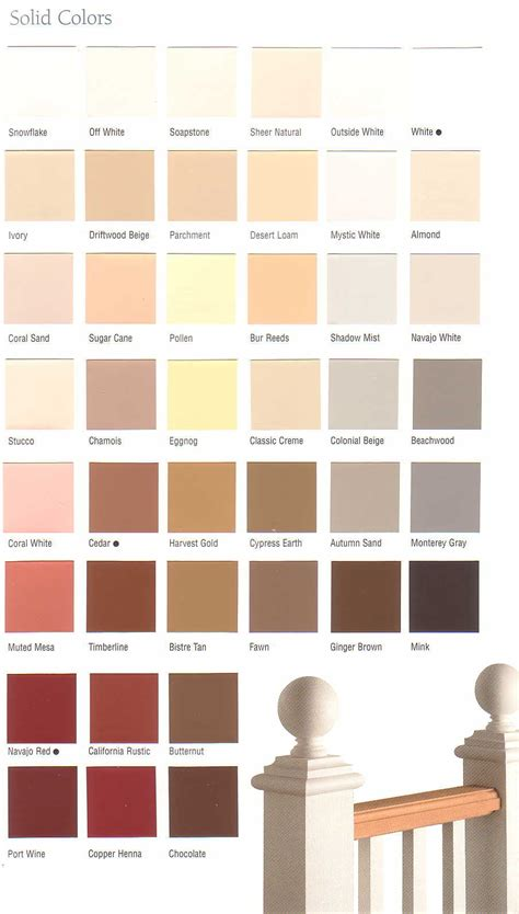 olympic stain colors inspiring olympic deck stain color chart 12 olympic solid