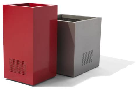 Planter Speakers by Speaker Planters Modern Outdoor Pots And Planters