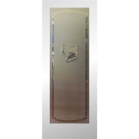 Shop Reliabilt Full Lite Frosted Glass Slab Interior Door Etched Glass Pantry Doors Lowes