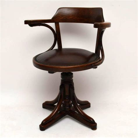 antique bentwood leather rocking chair by thonet antique bentwood and leather desk chair by thonet at 1stdibs