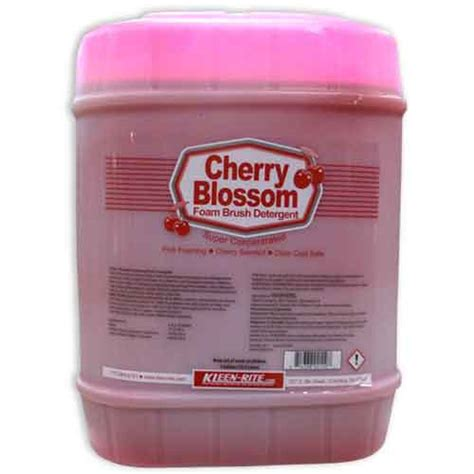 cherry blossom foamy brush car wash detergent kleen rite