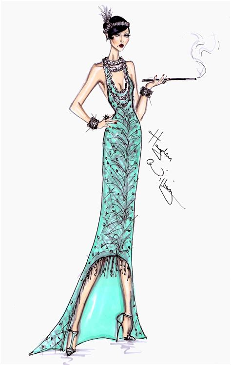 fashion illustration toronto fashion illustrations the great gatsby collection by