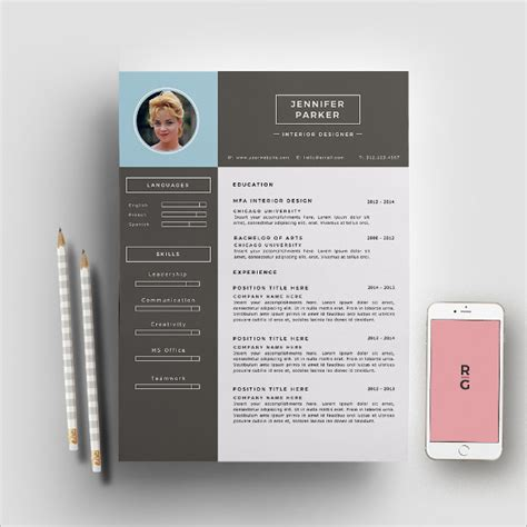 Interior Design Resume Template by 16 Designer Resume Template Sles Exles Format