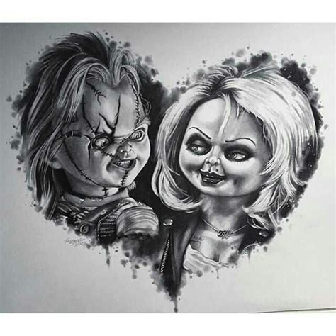 chucky tattoo designs chucky and ii chucky