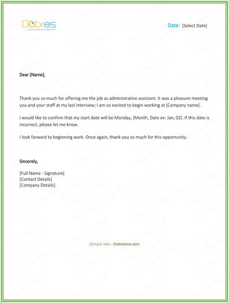 69 thank you letter examples