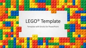 lego template mod 232 le powerpoint lego