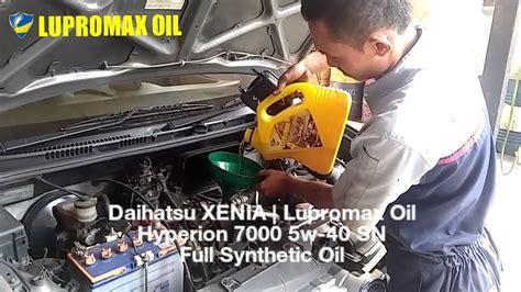 Oli Daihatsu Xenia daihatsu xenia lupromax hyperion 7000 5w 40