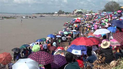 dragon boat festival vientiane noy itthilit recaptures vientiane boat race crown youtube