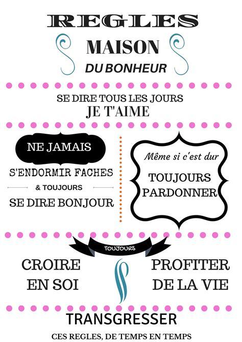 Tableau Regle De La Maison 4865 by R 232 Gles De La Maison Affiche Les Micmacs De Malova