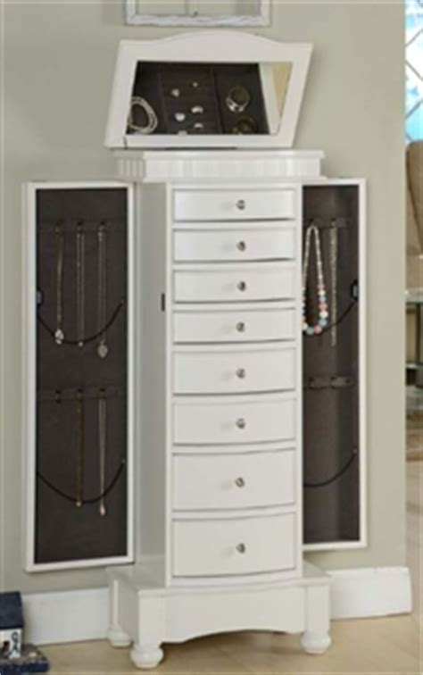 stand alone jewelry armoire stand alone jewelry armoire white floor standing jewelry
