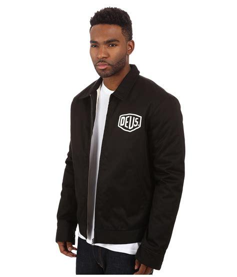 Hoodie Zipper Deus Ex Machina Machine Warung Kaos Sweater 2 deus ex machina workwear jacket in black for lyst