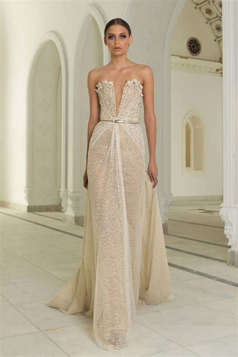 Dress Gisel Ky colorful wedding dress ideas from abed mahfouz