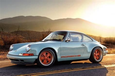 Old Porsche by Porsche 911 Old School With Some Modern Hot Rodding I D