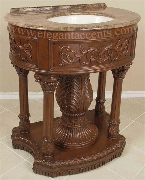 Cabinets For Pedestal Bathroom Sinks by 32 Quot Pedestal Vanity Sink Cabinet Bathroom Furniture Ebay