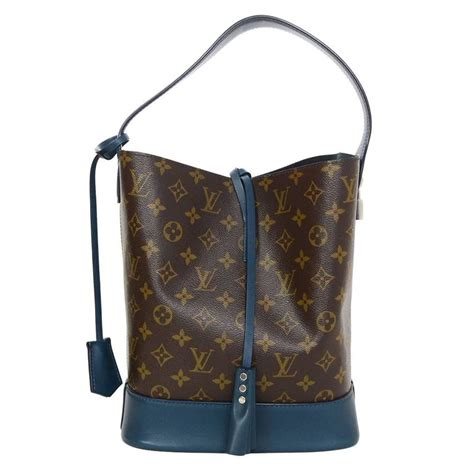 louis vuitton monogram nn noe bucket bag  dust bag