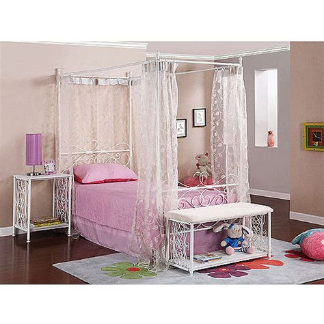 canopy bed walmart canopy wrought iron princess bed multiple colors