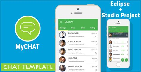 Mychat Chat Messenger Template Admob By Vishalbodkhe Codecanyon Template Chat