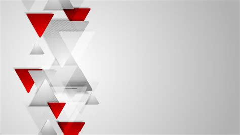 Redwhite The Jersey Grey abstract tech corporate grey background animation hd 1920x1080 stock footage