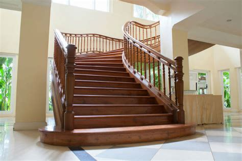 21 wood stair railing design ideas pictures
