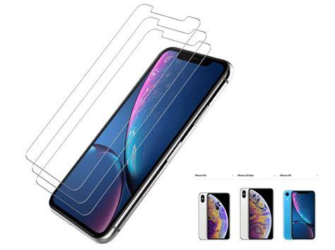 temp glass screen protector  iphone xs max