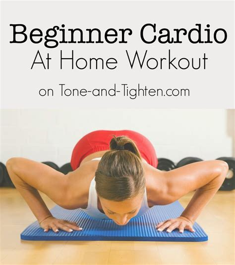 total low impact beginner cardio workout on tone and