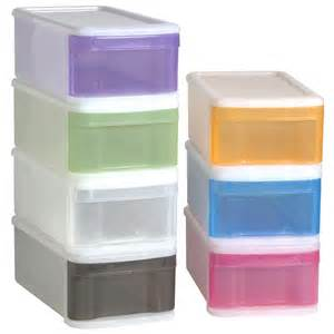Small Storage Containers With Drawers Help Organize Me