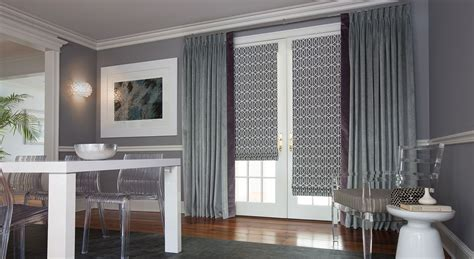 blinds drapes window treatments for the transitional style home the