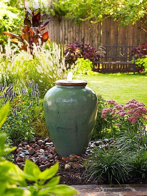 backyard features 29 joyful and beautiful backyard and garden fountains to