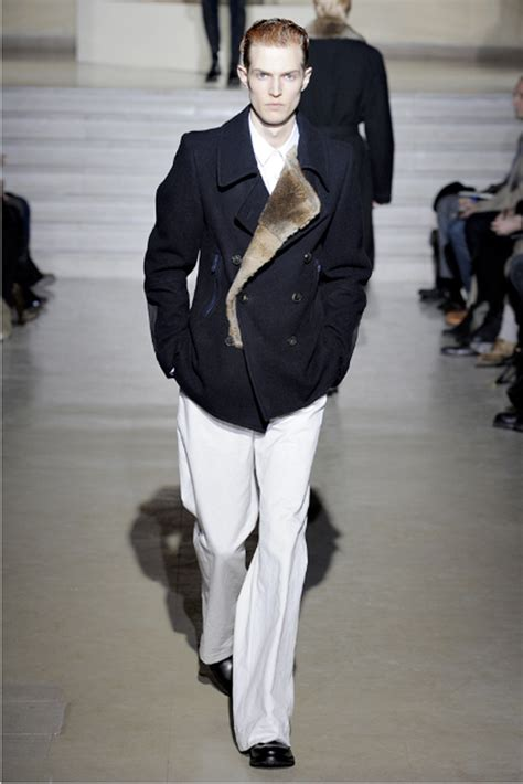 Menswear Chic At Dries Noten Gets A Twist By Wearing The Necktie Like A Harness Its A Snap To Capture The Spirit Without Breaking The Bank Fashiontribes Fashion by Dries Noten Menswear Autumn Winter 2011 Searching
