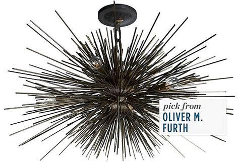 Starburst Light Fixture by Bronze Starburst Light Fixture