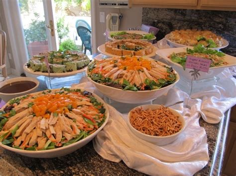 wedding shower buffet ideas 1000 images about buffet tablescapes on