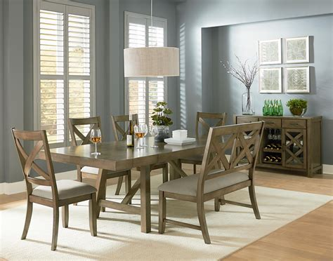 Dining Room Groups by Standard Furniture Omaha Grey Casual Dining Room Group