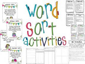 word sort templates the tattooed wishlist wednesday word sorts