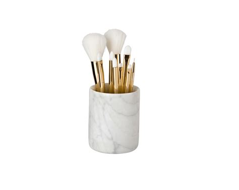 put in makeup brush holder marble brush holder the makeup box shop