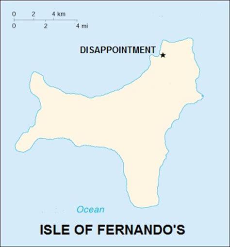 isle of fernando s map h anthony hildebrand