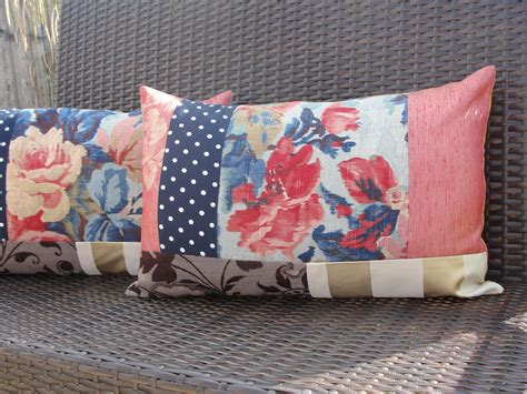 Patchwork Sewing Projects - eclectic patchwork cushions sewing projects burdastyle