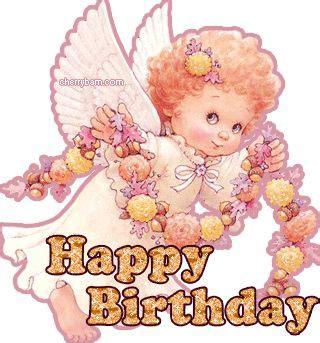 imagenes de happy birthday angel happy birthday angelito vestido de rosa happy birthday