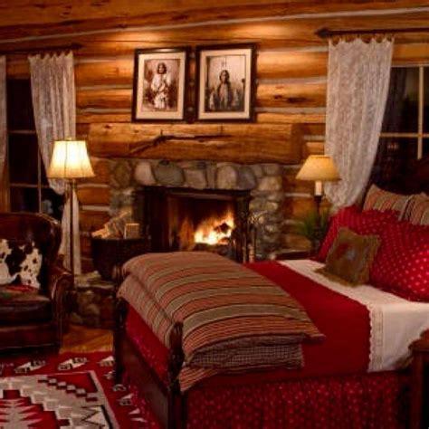 cozy cabin rustic cabin interiors pinterest vaulted cozy bedroom log homes log homes pinterest