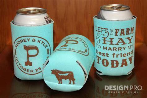 25  best ideas about Wedding Koozies on Pinterest