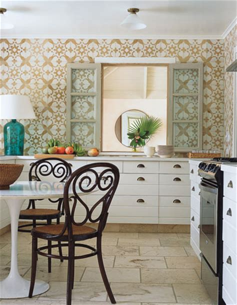 wallpaper designs for kitchen country kitchen wallpaper design ideas