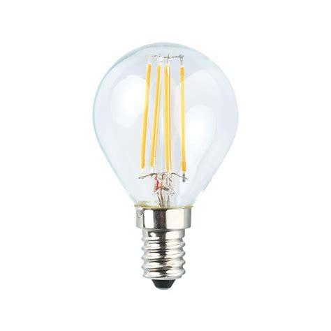 240v led light bulbs led 4w filament golf ball future light led