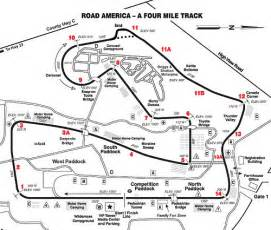 Road America Map by Road America Track Map Road America Is A Long Track At 4